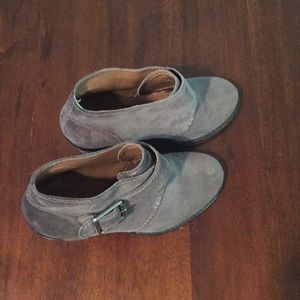 Lucky Brand Mickie brown suede bootie size 7